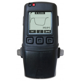 Lascar EL-GFX-DTC Dual Channel K, J & T-type Thermocouple Data Logger with Graphic Screen