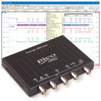 4-channel oscilloscopes - Compact and portable