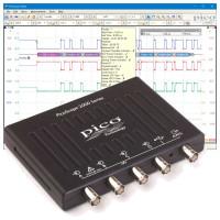 4-kanals oscilloskoper - Kompakt og transportabel