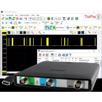 Handyscope HS5 Serien - High Resolution oscilloskop med funktionsgenerator