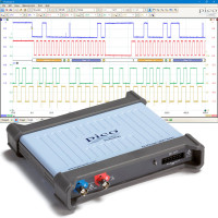 Mixed-signal oscilloscope - 2 analog and 16 digital channels