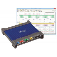 Mixed-signal oscilloscope - 4 analog and 16 digital channels
