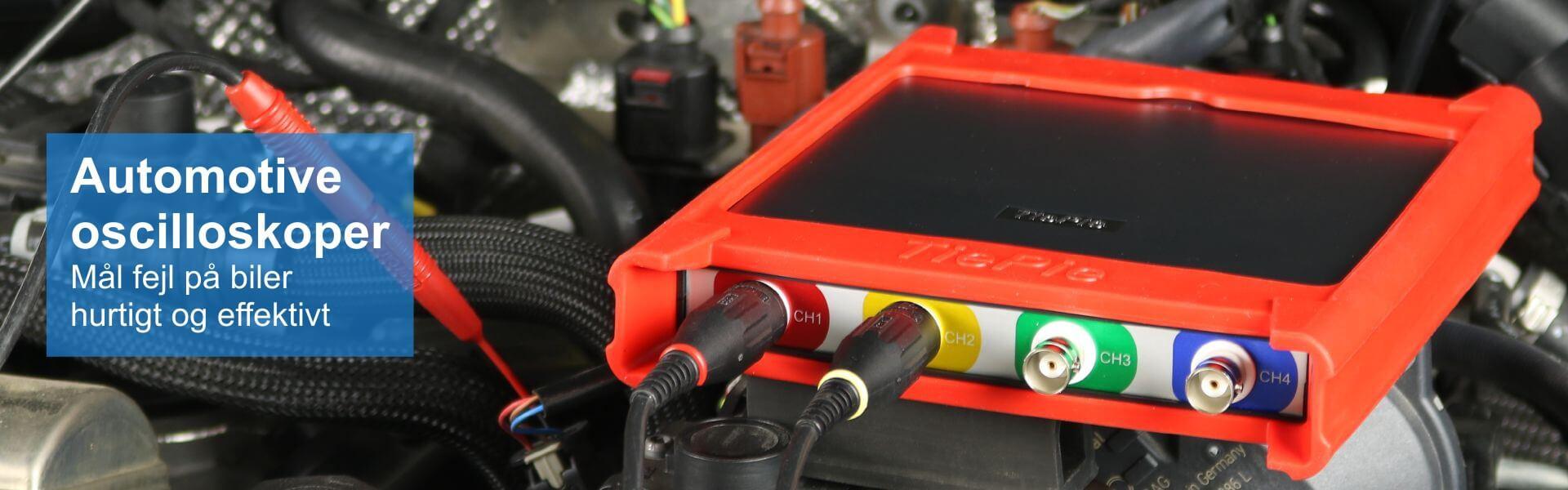 PC-oscilloskoper til auto diagnose